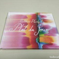 CDs de Música: JJ11- MATTHEW HERBERT PLAT DU JOUR CD NUEVO REPRECINTADO LIQUIDACIÓN!!. Lote 182949336