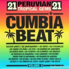CDs de Música: VARIOUS - CUMBIA BEAT VOL. 3 - PERUVIAN TROPICAL GEMS. Lote 182952267