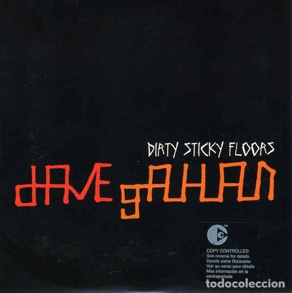DAVE GAHAN -DIRTY STICKY FLOORS (Música - CD's Techno)