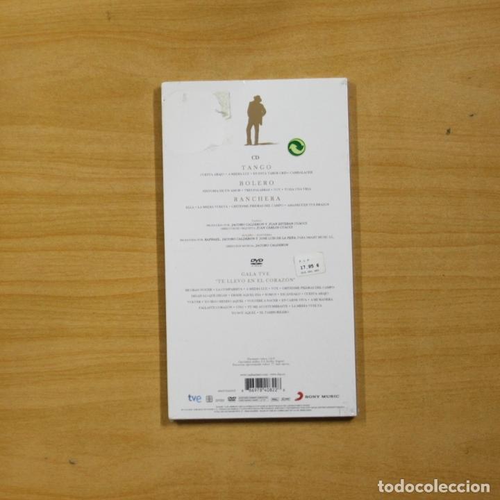 CDs de Música: RAPHAEL - ESENCIAL RAPHAEL TE LLEVO EN EL CORAZON - CD + DVD - Foto 2 - 182971687