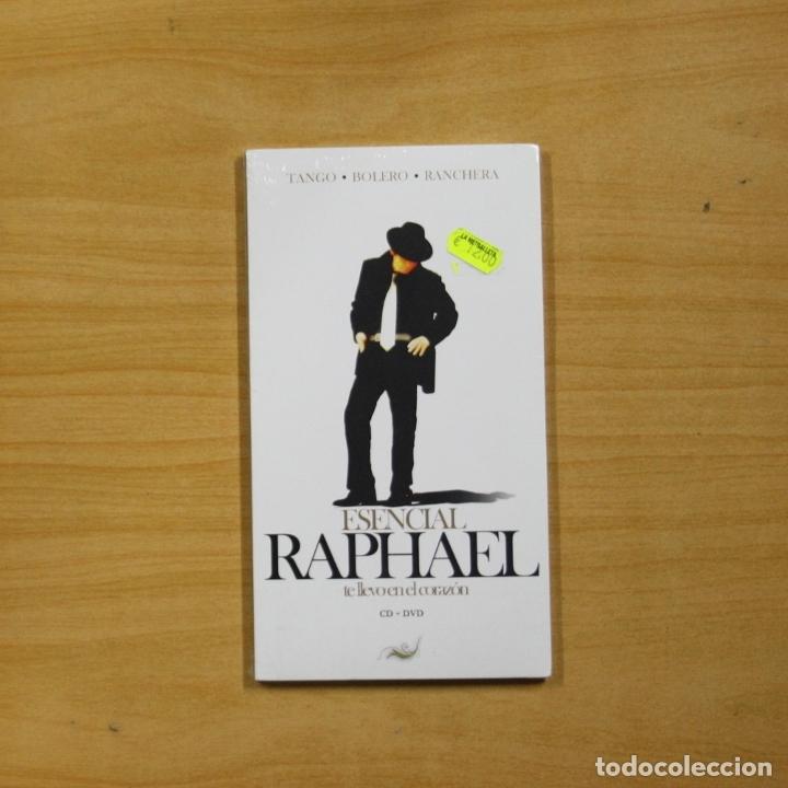RAPHAEL - ESENCIAL RAPHAEL TE LLEVO EN EL CORAZON - CD + DVD (Música - CD's Pop)