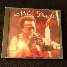 CDs de Música: MILES DAVIS...WALKIN. Lote 182994058