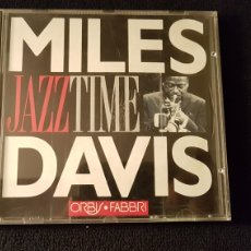 CDs de Música: MILES DAVIS...JAZZTIME..ORBIS FABBRI. Lote 182996351