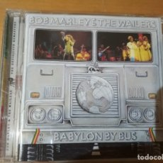 CDs de Música: BOB MARLEY & THE WAILERS BABYLON BY BUS CD. Lote 183008811