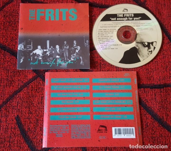 THE FRITS ** NOT ENOUGH FOR YOU! ** 1993 CD ORIGINAL ALEMANIA (Música - CD's Reggae)