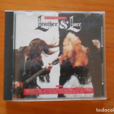 CDs de Música: CD LEATHER & LACE - QUEEN, ROBERT PLANT, ERIC CLAPTON, RAM JAM... (5I). Lote 183012637