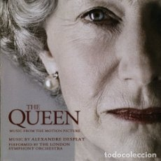 CDs de Música: THE QUEEN / ALEXANDRE DESPLAT CD BSO. Lote 183022003