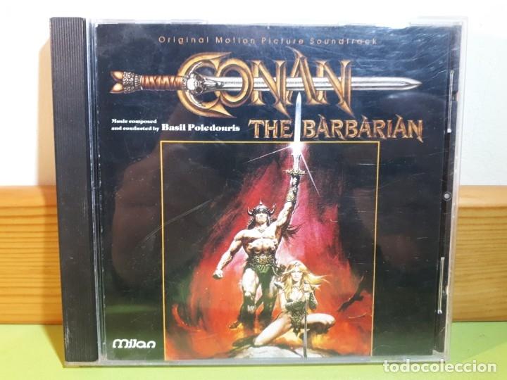 CONAN THE BARBARIAN - ORIGINAL MOTION PICTURE SOUNDTRACK - 1992 - COMPRA MÍNIMA 3 EUROS (Música - CD's Bandas Sonoras)