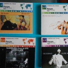 CDs de Música: LOTE DE 4 CDS - Y COLDER - MILTON NASCIMENTO - LLUIS LLACH - LAURIE ANDERSON. . Lote 183066903