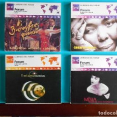 CDs de Música: LOTE DE 4 CDS - BARENBOIM,MEDEROS,CNONSOLLE - MIKE OLDFIEL - ;MISIA - CESARIA EVORA CABO VERDE . Lote 183067595