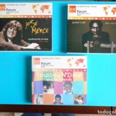 CDs de Música: LOTE DE 3 CDS - JOSE MERCE - JIMMY CLIFF - YOUSSOU N'DOUR.. Lote 183068040