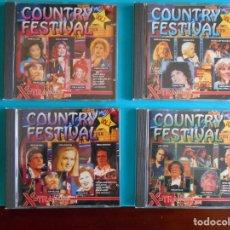 CDs de Música: COUNTRY FESTIVAL 4 CDS.. Lote 183078813