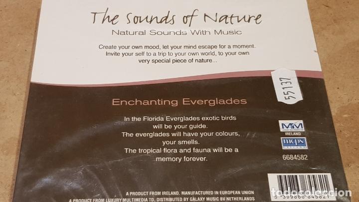 CDs de Música: THE SOUNDS OF NATURE / ENCHANTING EVERGLADES / CD - MM-IRELAND / PRECINTADO - DIFÍCIL. - Foto 2 - 183084220
