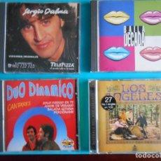 CDs de Música: LOTE DE 4 CDS :SERGIO DALMA - DUO DINAMICO - LOS ANGELES - LA DECADA. Lote 183087296