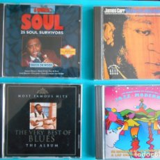 CDs de Música: LOTE DE 4 CDS : JAMES CARR - THE VERY BEST BLUES -THE WORLD SOUL - JAZZ MODERNO. Lote 183090082