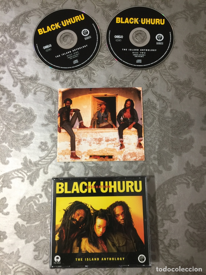 CDs de Música: BLACK UHURU (liberation) doble cd más folleto - Foto 4 - 183091613