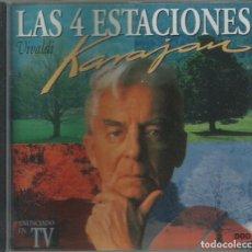 CDs de Música: LAS CUATRO ESTACIONES, HERBERT VON KARAJAN. Lote 183097961