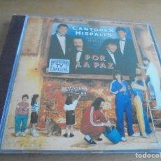 CDs de Música: RAR CD. CANTORES DE HISPALIS. POR LA PAZ. 1988. 10 TRACKS. Lote 183171270