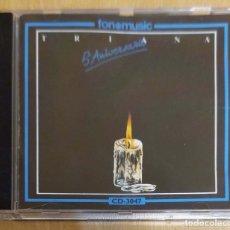 CDs de Música: TRIANA (5 ANIVERSARIO - 5º ANIVERSARIO) CD 1991 FONOMUSIC. Lote 183188906