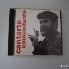 CDs de Música: CANTARTE COMANDANTE. Lote 183197095