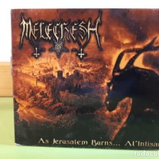 CDs de Música: MELECHESH - AS JERUSALEM BURNS AL`INTISAR - DIGIPACK - 2001 - COMPRA MÍNIMA 3 EUROS. Lote 183218286