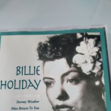 CDs de Música: BILLIE HOLIDAY ‎– BILLIE HOLIDAY. Lote 183284960