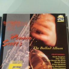 CDs de Música: A NIGHT AT RONNIE SCOTT'S - VOLUME 5 (THE BALLADS ALBUM). Lote 183323061