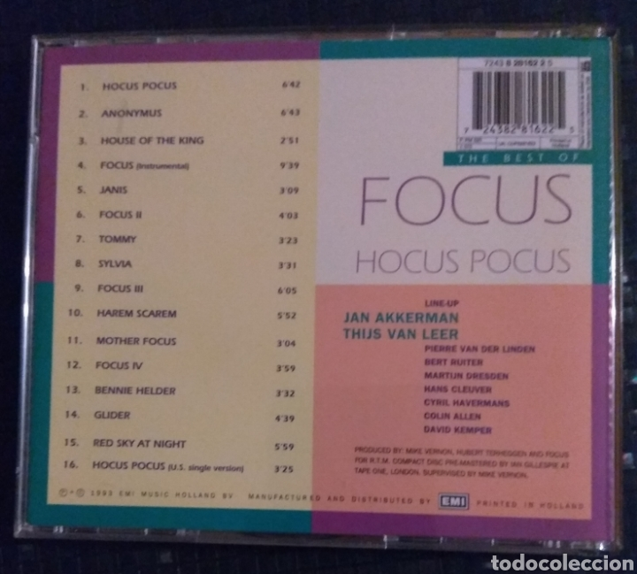 CDs de Música: Focus - The BEST of - Foto 2 - 183333975