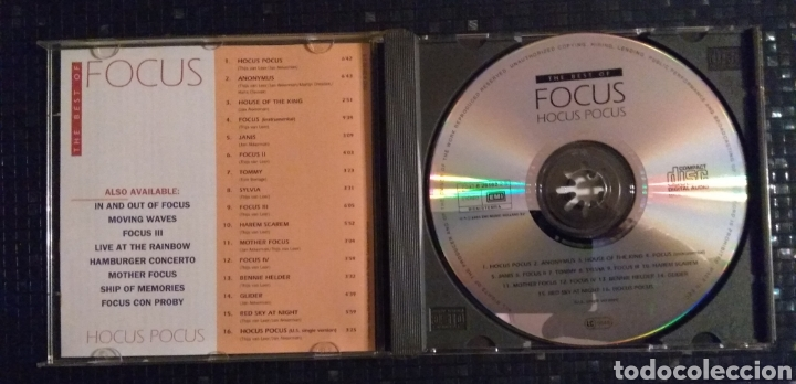 CDs de Música: Focus - The BEST of - Foto 3 - 183333975