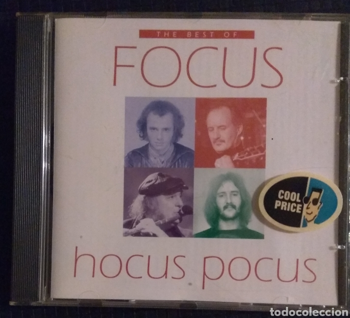 FOCUS - THE BEST OF (Música - CD's Rock)