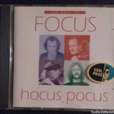 CDs de Música: FOCUS - THE BEST OF. Lote 183333975