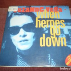 CDs de Música: CD SINGLE SUZANNE VEGA / WHEN HEROES GO DOWN 2 TRACKS ESTUCHE CARTON. Lote 183334556