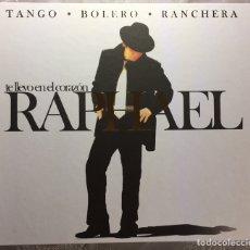 CDs de Música: ÁLBUM TE LLEVO EN EL CORAZÓN.(3CD'S+DVD+ LIBRITO TANGO,BOLERO,RANCHERA).. Lote 183340058
