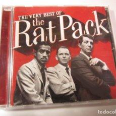 CDs de Música: CD THE RAT PACK THE BERY BEST. Lote 183346916