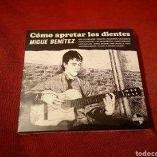 CDs de Música: MIGUE BENÍTEZ CÓMO APRETAR LOS DIENTES LIBRO + 2CD LOS DELINQUENTES. Lote 183356656