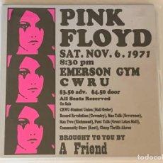 CDs de Música: PINK FLOYD - EMERSON GYM CWRU - 2 CD, CLEVELAND 1971. Lote 183361041