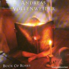 CDs de Música: ANDREAS VOLLENWEIDER - BOOK OF ROSES - CD ALBUM - 16 TRACKS - COLUMBIA / SONY MUSIC 1991. Lote 183367775
