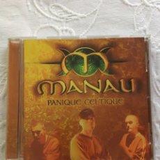 CDs de Música: MANAU: PANIQUE CELTIQUE. Lote 183371530