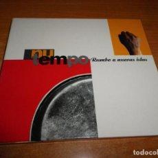 CDs de Música: NU TEMPO RUMBO A NUEVAS ISLAS CD ALBUM DIGIPACK 2000 ESPAÑA 10 TEMAS TEMAS DE JUANJO JAVIERRE. Lote 183375415