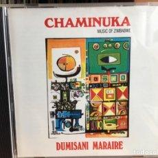 CDs de Música: DUMISANI MARAIRE - CHAMINUKA: MUSIC OF ZIMBABWE (CD, ALBUM, RM) (MUSIC OF THE WORLD)CDC-208. Lote 183379430