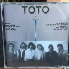 CDs de Música: TOTO - THE BEST OF TOTO (CD, COMP) (EPIC)RCD022-2. Lote 183384273