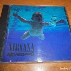 CDs de Música: NIRVANA NEVERMIND CD ALBUM DEL AÑO 1991 ESPAÑA CONTIENE 12 TEMAS EDICION ESPAÑOLA RARO. Lote 183388136