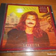 CDs de Música: YANNI TRIBUTE CD ALBUM DEL AÑO 1997 HECHO HOLANDA CONTIENE 11 TEMAS NEW AGE . Lote 183389991