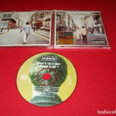 CDs de Música: OASIS (( WHAT'S THE STORY ) MORNING GLORY ? ) - CD - 481020 2 - HELTER SKELTER - WONDERWALL .... Lote 183409761