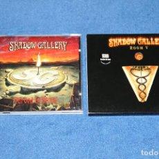 CDs de Música: SHADOW GALLERY (CARVED IN STONE + ROOM V EDICIÓN ESPECIAL) - EN EXCELENTE ESTADO. Lote 183411788