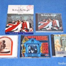 CDs de Música: LOTE DE 4 CD + 1 DVD DE CLÁSICOS DEL ROCK (THE WHO, WOODSTOCK...) - EN EXCELENTE ESTADO. Lote 183415876