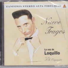 CDs de Música: LA VOZ DE LOQUILLO - NUEVE TRAGOS - CD PRECINTADO. Lote 183417590
