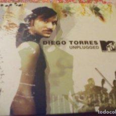 CDs de Música: CD. DIEGO TORRES -- UNPLUGGED. M TV. Lote 183429706