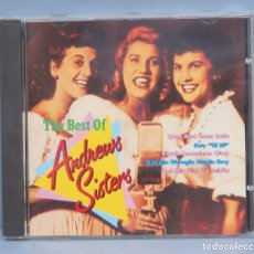 CDs de Música: CD. THE BEST OF ANDREW SISTERS. Lote 183452187