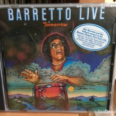 CDs de Música: RAY BARRETTO - TOMORROW: BARRETTO LIVE (CD, ALBUM) (MESSIDOR, MESSIDOR) 15950,. Lote 183457176